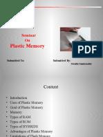 Plastic Memory Ppt
