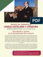 """Casa Museo Azorín. """"Recordando a Azorín en el Cincuentenario de su muerte"""" de Fernando Carratalá Teruel"""