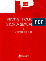 Foucault Michel Vointa de a Sti 2004