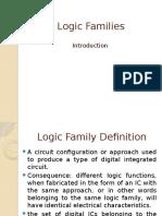Logic Families Intro