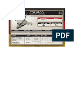 Team Yankee - Unit Card - Bundeswehr - Tornado