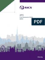 Final Assessment Guide MENA - APC Aug 2015