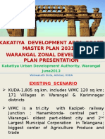Rationalised Master Plan & Zonal Dev. Plan for Kakatiya (Warangal) Dev. Area