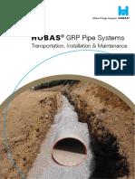 GRP Installation Underground