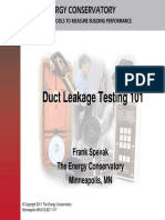 Duct Blaster Basics