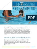 Chapter 7 Recreation Programming