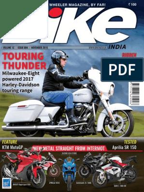 Bike India - November 2016   Personal Transporters   Motorcycle