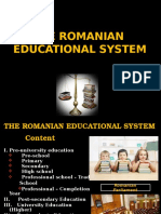 Romania - The Education System