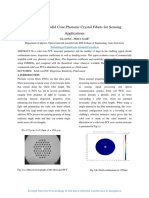 Commercial Solid Core Photonic Crystal Fibers for Sensing