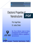 Electronic Properties of Nanostructures-1