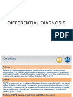 Differential Diagnosis Asthma