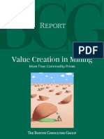 BCG_Value Creation - More than commodity price