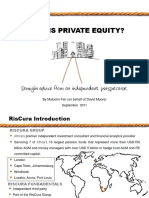 What is Private Equity