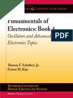 Book 4 Oscillators and Advanced Electronics Topics