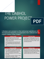 The Dabhol Power Project
