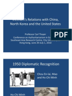 Thayer Vietnam's Relations with China, North Korea and the United States