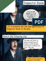 AIC the Inspector