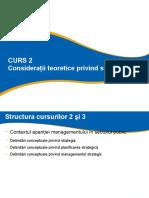 CURS 2 EPSIP_Consideratii Teoretice Privind Strategia