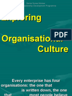 Exploring Organisational Culture