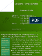 Niche QS Integrated Management System (IMS)