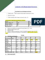 Exercice Choix d Investissment Et Fin an Cement