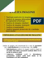 Prelegerea 8. Analiza Imaginii