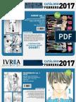 Proximas Novedades Ivrea - Febrero 2017