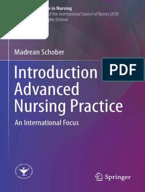 Advanced Practice Nursing An Integrative Approach