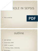 CRRT Role in Sepsis 17122016
