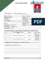 Employee Application Form_SKI