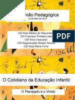 apresentação - Reunião Pedagógica