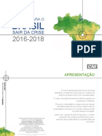 Agenda Para o Brasil Sair Da Crise 2016 - 2018 Final - 28abril (2)