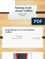 Making Iced Instant Coffee Wiwin Punya