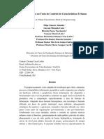 Geoprocessamento No Trato de Controle de Características Urbanas