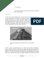 Principal Types of Volcanoes