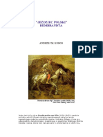 Jeździec Polski Rembranta - Historia Sztuki