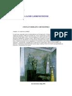 O Janie Lebensteinie - Historia Sztuki