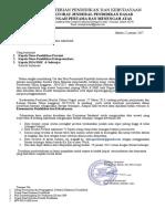 Surat Permintaan Data Prestasi Murid SMP,SMA&SMK