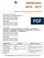 Oferta Revelion Fundata 2016 - 2017