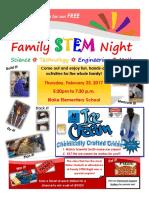 updated family stem night flyer  2017
