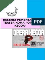 Resensi Pementasan Teater Koma