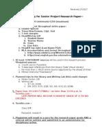 research checklis sp f17