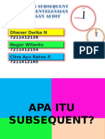 Kelompok 9 - SUBSEQUENT EVENT.ppt