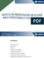 Manual de Presentacion de Planos Para Consultoras y Contratistas SSTyC