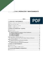 Operacion y Mantenimiento de Plantas de AP - ENOHSA