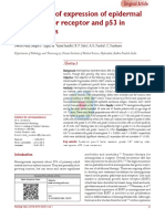 EFGR and P53 in Meningioma