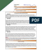 Hazard Information Sheet