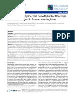 EGFR in MEningioma