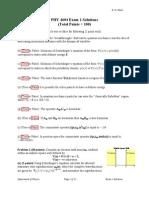4604 Exam1 Solutions Fa06