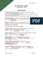 4604 Exam2 Solutions Fa06